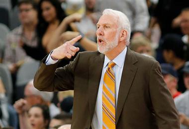 Gregg Popovich dirigió a los Spurs los últimos 22 años