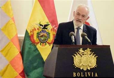 Guillermo Aponte, presidente del Banco Central, sugirió que se busquen fuentes alternativas de financiamiento y que no recaiga todo el peso en el ente emisor/Foto: APG Noticias