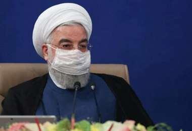 El presidente de Irán, Hasan Rohani, afirmó que EEUU fracasó en esta conspiración