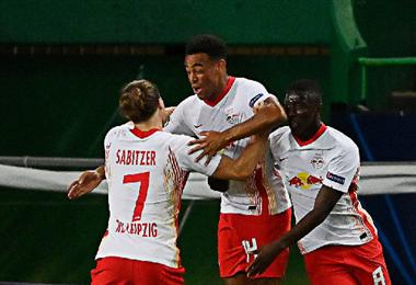 RB Leipzig apunta a dar el gran golpe en Europa