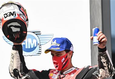Andrea Dovizioso logró su triunfo número 15 en GP