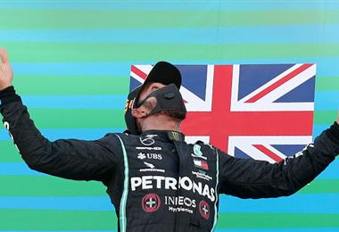 Hamilton sigue imparable en la F1