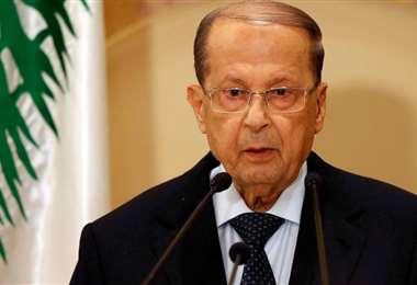 El presidente libanés, Michel Aoun, parece abierto a la paz con Israel
