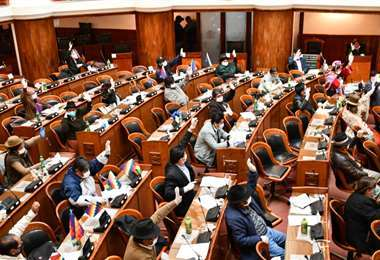 Cámara de Diputados sesiona este martes.
