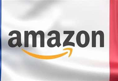 Logo de Amazon Francia. Foto Internet
