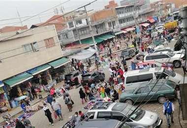 Calles del mercado antiguo La Ramada (Foto: Leyla Mendieta)