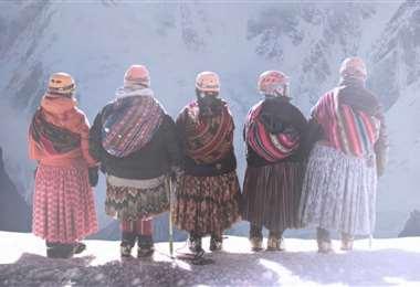 La aventura de cinco cholitas boliviana viene siendo muy aplaudida en varios festivales de cine