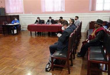 audiencia de Acción Popular que presentaron contra el Gobierno (Foto: oficial)