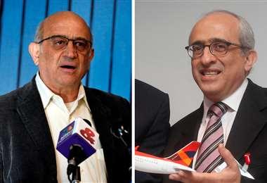 Los empresarios Germán y José Efromovich. Foto Internet