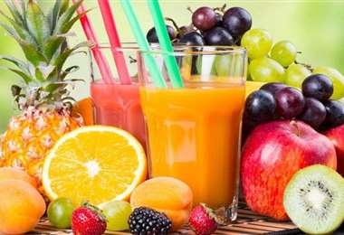 La fruta es una de las mejores fuentes naturales de vitaminas, minerales y fibra