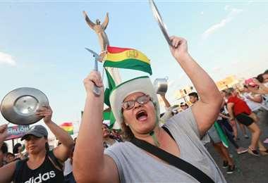 Las 'pititas' están alertas, igual que los movimientos sociales /Fuad Landívar