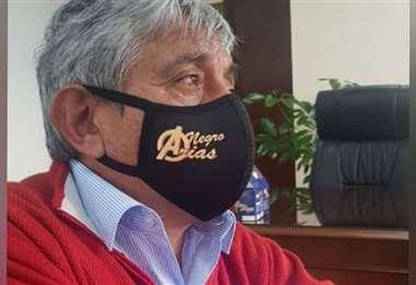 El ministro Iván Arias.
