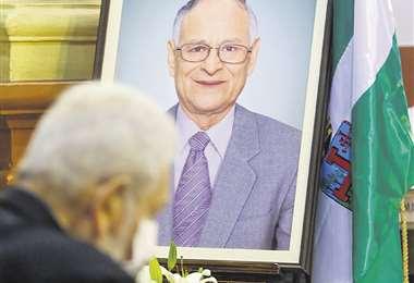 Homenaje al Dr. Roberto Tórrez/Foto: Ricardo Montero