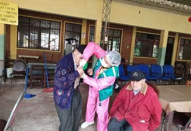 La cuarentena afectó a ancianos y personas con capacidades especiales
