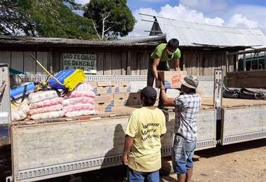 Los indígenas de tierras bajas recibieron ayuda internacional