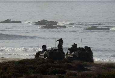 Desaparecieron tras el accidente de un vehículo de asalto anfibio frente a la costa de California