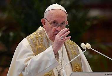 Francisco envió un mensaje de aliento al pueblo nicaragüense