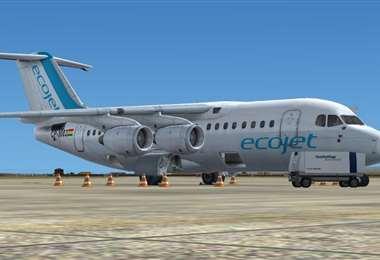 La firma espera en la segunda fase realizar vuelos al eje del país (Foto: Fuad Landívar)
