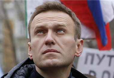 Alexei Navalny fue hospitalizado en estado grave. Foto. BBC