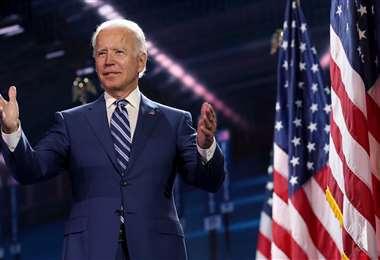 Biden será nominado oficialmente esta noche. Foto AFP