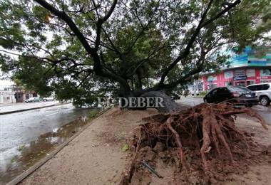 Clima en Santa Cruz. Fotos. Jorge Uechi, Hernán Virgo y gentileza ciudadana