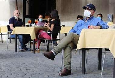 Un bar de Roma. Foto Internet