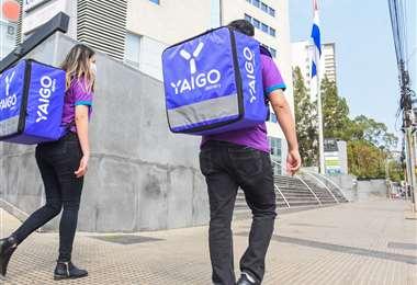 Yaigo empezó en Asunción la semana pasada con 50 conductores/Foto: Yaigo