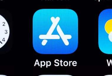 La App Store de Apple. Getty Images