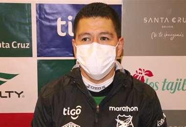 Carlos Saucedo, delantero de la selección boliviana. Foto: Captura video