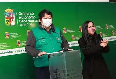 Chang indicó que hay 287 casos de influenza en Santa Cruz