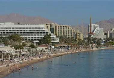 La ciudad balnearia de Eilat. Foto Internet