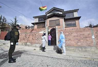 El rastrillaje que se realiza en La Paz I APG Noticias.