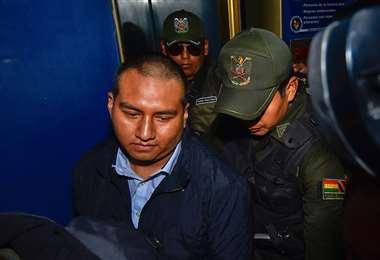 Juan Pari, principal acusado del desfalco I APG.