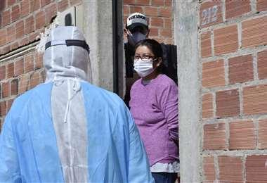 La labor en La Paz I APG Noticias.