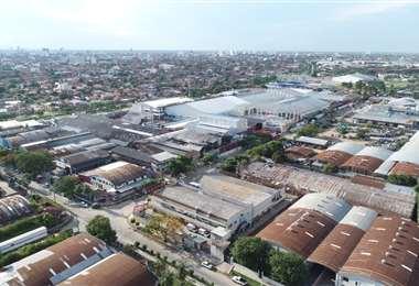 Son 370 empresas asentadas en el parque industrial. Foto: Fuad Landívar