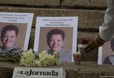 Miroslava fue asesinada en 2017. Foto Internet