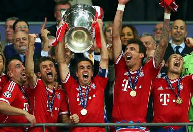 La última vez que el Bayern de Múnich ganó la 'Champions' fue en 2013. Foto: Internet