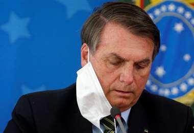 El mandatario brasileño. Foto Internet