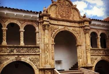 El edificio que aloja al Musef es una casona de 1700