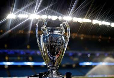 El trofeo de la 'Champions', que hoy aspiran llevarse el Bayern de Múnich y el PSG. Foto: