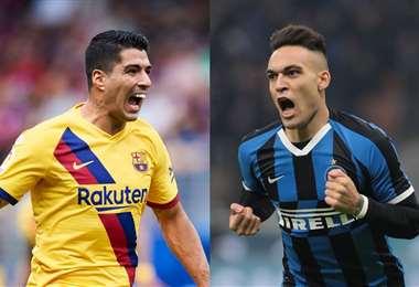 Luis Suárez ya no está en los planes del Barcelona, que pone la mirada en Martínez.