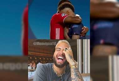 Meme tras el final de la Champions
