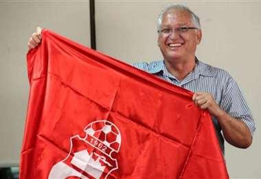 Rafael Paz, presidente del club  deportivo Guabirá. Foto: internet