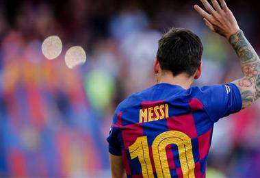 Lionel Messi, estrella del fútbol mundial. Foto. Internet