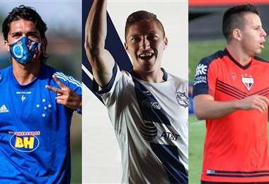 Martins, Chumacero y Vaca pueden ser llamados por Farías. Foto: Internet