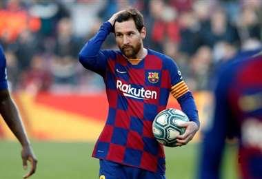 Leo Messi ha sido seis veces máximo goleador de la liga española. Foto: internet