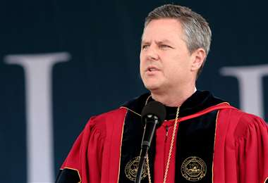 El líder evangélico. Foto AFP