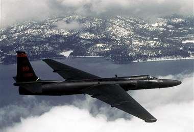 El avión de reconocimiento U2. Foto Internet
