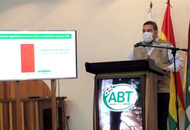 Víctor Hugo Áñez, director ejecutivo de la ABT