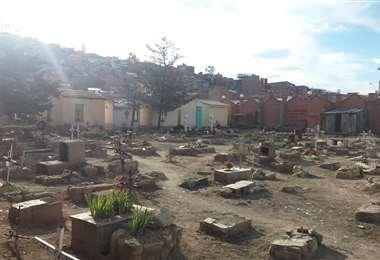 El cementerio de Oruro I archivo.